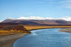 Tundra το φθινόπωρο στοκ φωτογραφία