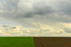 Αγροβιομηχανικός τομέας Στοκ φωτογραφία με δικαίωμα ελεύθερης χρήσης