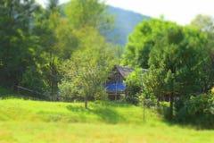 Αγροικία Carpathians Στοκ φωτογραφίες με δικαίωμα ελεύθερης χρήσης
