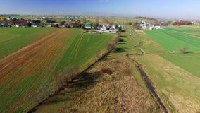 Αγροκτήματα Amish στο Λάνκαστερ, PA απόθεμα βίντεο
