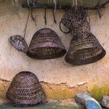 Αγροτικά εργαλεία στη ζούγκλα Λι Sanya και χωριό Miao Hainan Στοκ Εικόνες