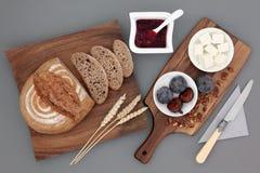 Αγροτικά ελληνικά τρόφιμα πρόχειρων φαγητών στοκ εικόνες