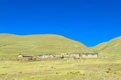 Αγροτικά σπίτια στο altiplano Στοκ Εικόνα