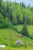 Αγροτικά σπίτια χώρας στοκ φωτογραφία
