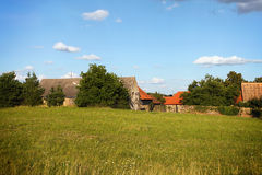 Αγροτικά σπίτια Στοκ εικόνες με δικαίωμα ελεύθερης χρήσης