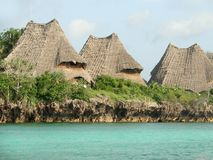Αγροτικές στέγες σε Zanzibar Στοκ εικόνες με δικαίωμα ελεύθερης χρήσης