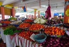Αγροτική αγορά σε Mahebourg, Μαυρίκιος Στοκ φωτογραφία με δικαίωμα ελεύθερης χρήσης