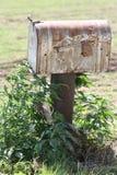 Αγροτική αγροτική ταχυδρομική θυρίδα Στοκ φωτογραφία με δικαίωμα ελεύθερης χρήσης