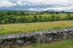 Αγροτική αστική περιοχή Antietam Στοκ Φωτογραφία