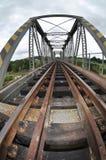 Αγροτική γέφυρα τραίνων Στοκ εικόνα με δικαίωμα ελεύθερης χρήσης