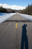 Αγροτική εθνική οδός στοκ εικόνες
