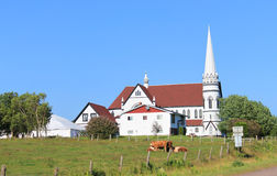 Αγροτική εκκλησία Στοκ φωτογραφία με δικαίωμα ελεύθερης χρήσης