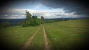 Αγροτική διαδρομή Στοκ Εικόνες