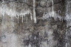 Αγροτική και παλαιά γκρίζα σύσταση φωτογραφιών συμπαγών τοίχων Shabby κομψό σκηνικό Στοκ Εικόνα