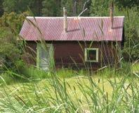 αγροτική καλύβα Στοκ φωτογραφίες με δικαίωμα ελεύθερης χρήσης