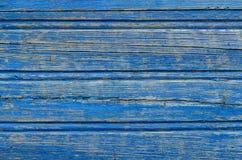 Αγροτική μπλε ξύλινη σύσταση Στοκ Εικόνες