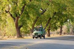Αγροτική οδός σε Bagan Στοκ Εικόνες