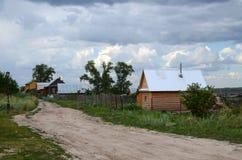 αγροτική οδός Στοκ φωτογραφίες με δικαίωμα ελεύθερης χρήσης