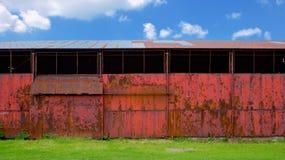 Αγροτική περίληψη σιταποθηκών Στοκ Εικόνες