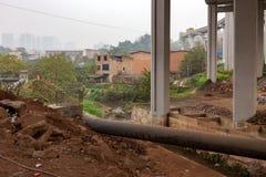 Αγροτική περιοχή Chongqing στοκ φωτογραφία