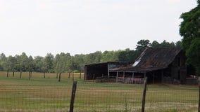 Αγροτική σιταποθήκη προβάτων Στοκ φωτογραφία με δικαίωμα ελεύθερης χρήσης