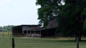 Αγροτική σιταποθήκη προβάτων Στοκ Εικόνα