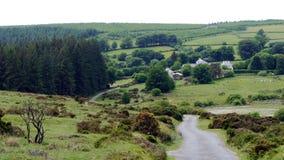 Αγροτική σκηνή ανοίξεων επαρχία της νοτιοδυτικής Αγγλίας του Devon στοκ εικόνες