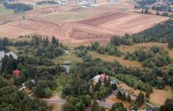 Αγροτική σκηνή, πολιτεία της Washington Στοκ φωτογραφία με δικαίωμα ελεύθερης χρήσης