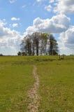 Αγροτική σκηνή στην επαρχία του δυτικού Σάσσεξ Στοκ φωτογραφία με δικαίωμα ελεύθερης χρήσης
