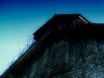 αγροτική σκιαγραφία Στοκ εικόνες με δικαίωμα ελεύθερης χρήσης
