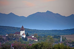 Αγροτική Τρανσυλβανία στοκ φωτογραφία