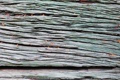 Αγροτικός αποσυντέθηκε ξύλινο υπόβαθρο σύστασης πινάκων Στοκ Φωτογραφία