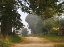αγροτικός δρόμος Στοκ Φωτογραφίες