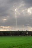 αγροτικός ηλιόλουστο&sigmaf Στοκ φωτογραφίες με δικαίωμα ελεύθερης χρήσης