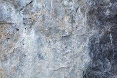 Αγροτικός και παλαιός γκρίζος συμπαγής τοίχος Στοκ φωτογραφία με δικαίωμα ελεύθερης χρήσης