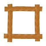 αγροτικός ξύλινος πλαισί Στοκ εικόνα με δικαίωμα ελεύθερης χρήσης