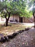 αγροτικός ξύλινος σπιτιών στοκ εικόνα με δικαίωμα ελεύθερης χρήσης