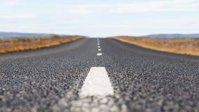 Αγροτικός δρόμος στην Ισλανδία Στοκ εικόνες με δικαίωμα ελεύθερης χρήσης