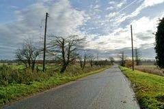 Αγροτικός δρόμος στοκ εικόνες