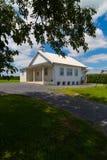 Αγροτικός σχολικό σπίτι Amish δωματίων στοκ εικόνες