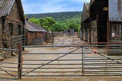 Αγροτικό αγροτικό ναυπηγείο χωρών στοκ φωτογραφίες με δικαίωμα ελεύθερης χρήσης