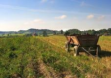 αγροτικό βαγόνι εμπορευ& Στοκ φωτογραφία με δικαίωμα ελεύθερης χρήσης