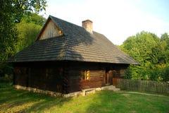 Αγροτικό εξοχικό σπίτι στην Πολωνία Στοκ Εικόνα