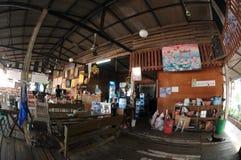 Αγροτικό εσωτερικό σχέδιο εστιατορίων στοκ εικόνες