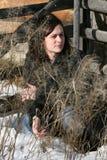 Αγροτικό θηλυκό στοκ εικόνες