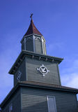 Αγροτικό καμπαναριό εκκλησιών Στοκ Εικόνα