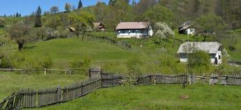 Αγροτικό Καρπάθιο τοπίο Ρουμανία Στοκ φωτογραφίες με δικαίωμα ελεύθερης χρήσης