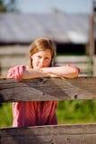 αγροτικό κορίτσι χωρών στοκ φωτογραφίες