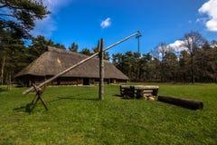 Αγροτικό κτήριο στο υπαίθριο μουσείο του Ταλίν, Εσθονία Στοκ φωτογραφίες με δικαίωμα ελεύθερης χρήσης