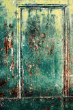 Αγροτικό ξύλινο υπόβαθρο με τη shabby, παλαιά ξεφλουδισμένη επιφάνεια, ζωηρόχρωμη Στοκ Εικόνες